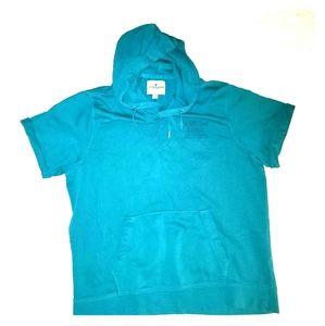 AE Women's Short Sleeve Sport Hoodie (XL)